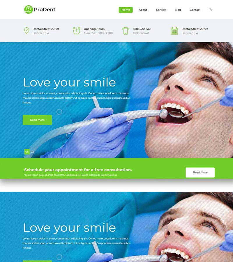 Dental Health Care Website